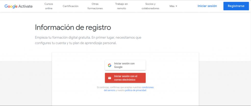 Activate 33 Cursos Google Gratis Con Certificacion 2020